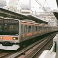 中央線で運用中の209系1000番台