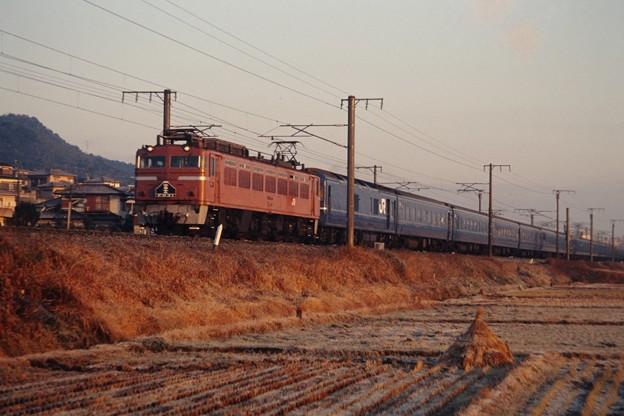 EF81牽引の「富士」