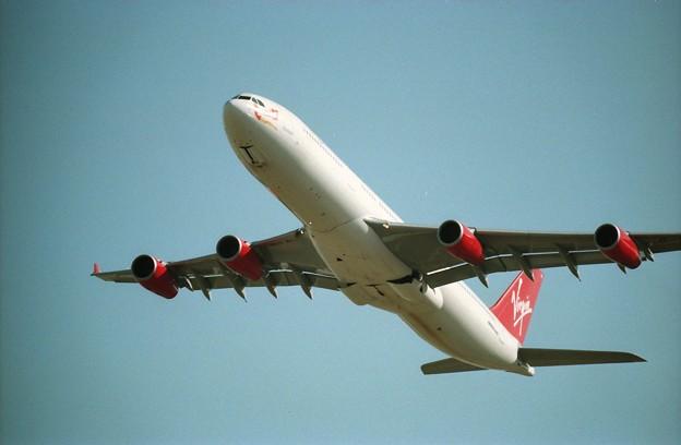 ヴァージンアトランティック航空のエアバスA340