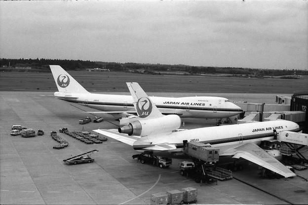 日本航空のDC-10とB747