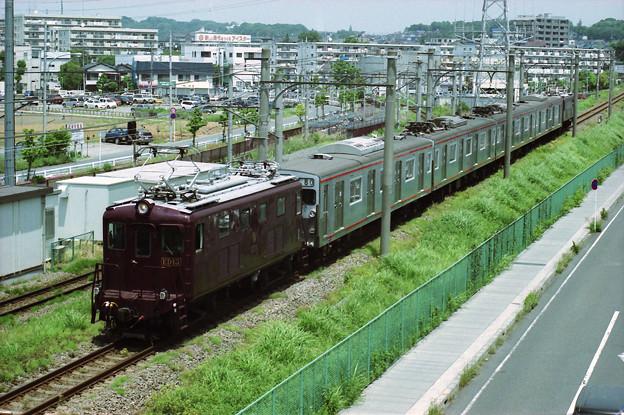 相模鉄道ED13+ED14プッシュプル7000系回送