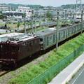 Photos: 相模鉄道ED13+ED14プッシュプル7000系回送