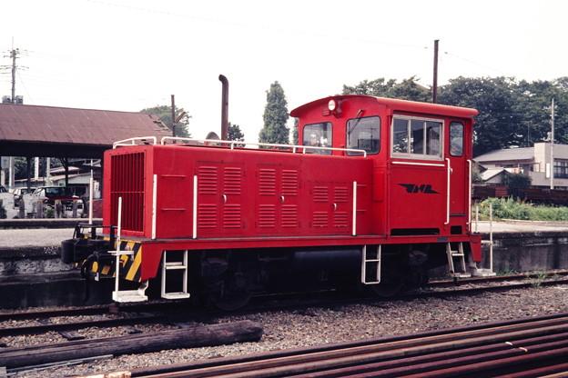 Photos: 下妻駅にいたJNRマーク付きの20トン移動機
