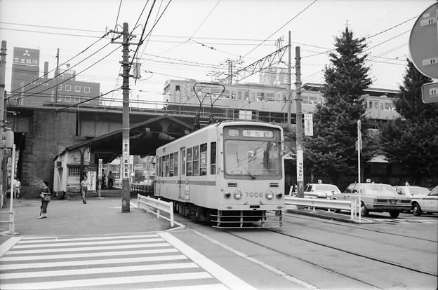 1982年夏の大塚駅前