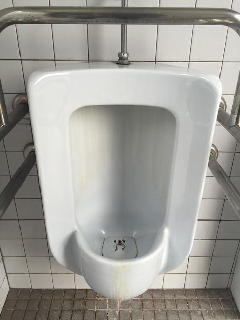 呉市本通のきらきら公園のトイレの小便器