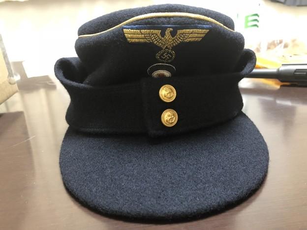 京都シュミットの旧ドイツ海軍将校・将官用濃紺規格帽