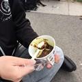 Photos: 僕が海自カレーを食べる場面