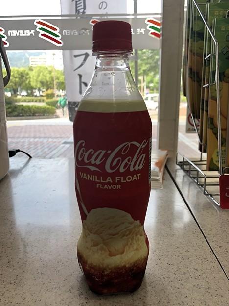 コカ・コーラのバニラフロートフレーバー
