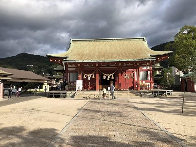 亀山神社の様子