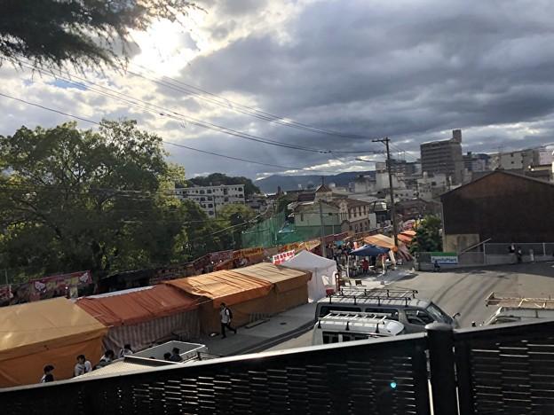Photos: 屋台へ