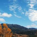足跡みたいな雲