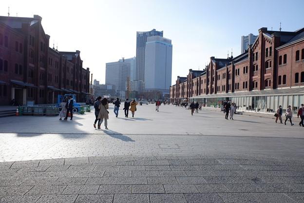 赤レンガ倉庫広場