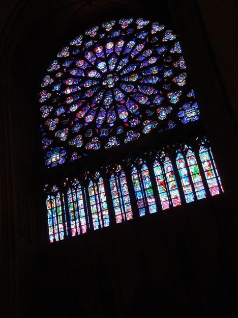 薔薇窓@ノートルダム寺院