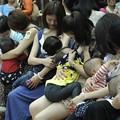"""Photos: 福州?""""哺乳快?"""" 倡?母乳喂?3"""