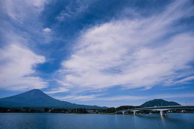 富士五湖巡り【河口湖から見る富士】2