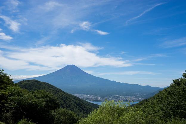富士五湖巡り【峠の茶屋から見る富士】4