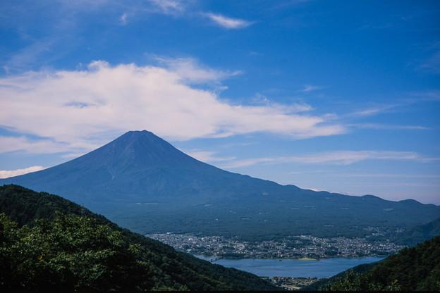 富士五湖巡り【峠の茶屋から見る富士】5