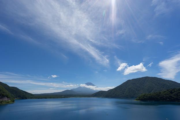 富士五湖巡り【本栖湖から見る富士】1