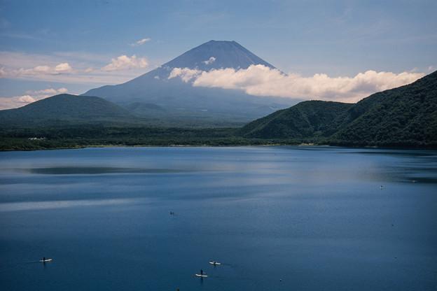 富士五湖巡り【本栖湖から見る富士】3