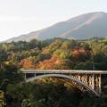 Photos: 東北紅葉狩り【鳴子峡:大深沢橋】2