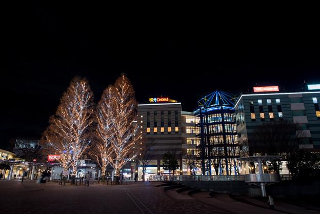 港北東急の夜景【Ai Nikkor 24mm f2.8S:絞りf5.6】02