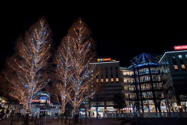 Photos: 港北東急の夜景【Ai Nikkor 24mm f2.8S:絞りf5.6】03