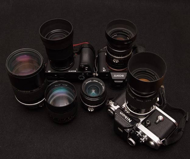20191020に使用したカメラとレンズ