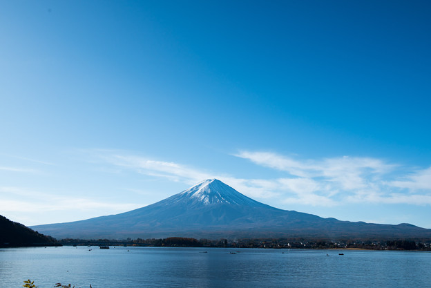 河口湖【富士山の眺め】