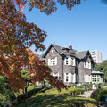 旧古河庭園【洋館と紅葉】1