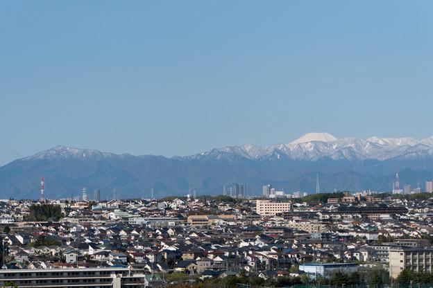 近所へ散歩【遠くに見る富士山】1