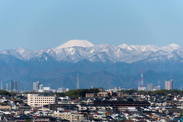 近所へ散歩【遠くに見る富士山】2