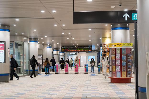 早朝ウォーキング【青葉台駅:改札口】