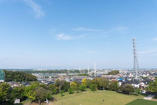 早朝ウォーキング【川和富士公園:富士山方面】