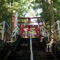 GoToTravel山梨旅行【新屋山神社】2