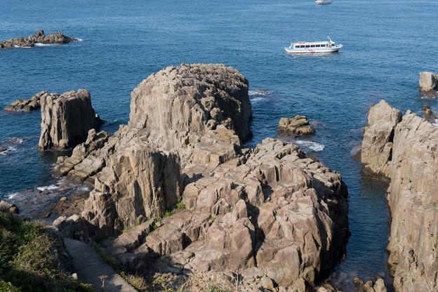 10北陸旅行2日目【東尋坊:岩と海の眺め】1