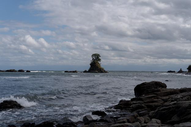 25北陸旅行3日目【雨晴海岸(北アルプスは見えませんでした)】