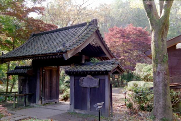 Photos: 26薬師池公園【旧荻野家周辺の紅葉】1銀塩