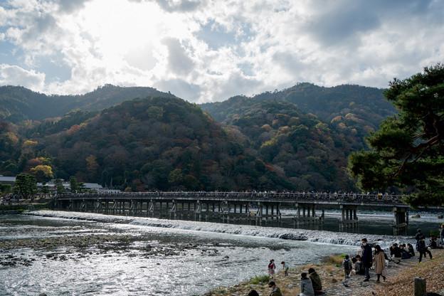 16京都紅葉狩り【渡月橋】