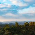 Photos: 10鳥取・島根旅行【バスからの眺め:山側は日差し】