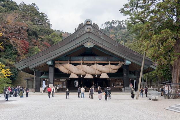 16鳥取・島根旅行【出雲大社:神楽殿】