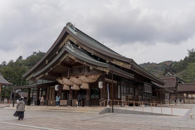 21鳥取・島根旅行【出雲大社:拝殿】