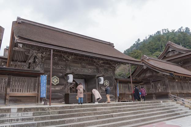 22鳥取・島根旅行【出雲大社:八足門】