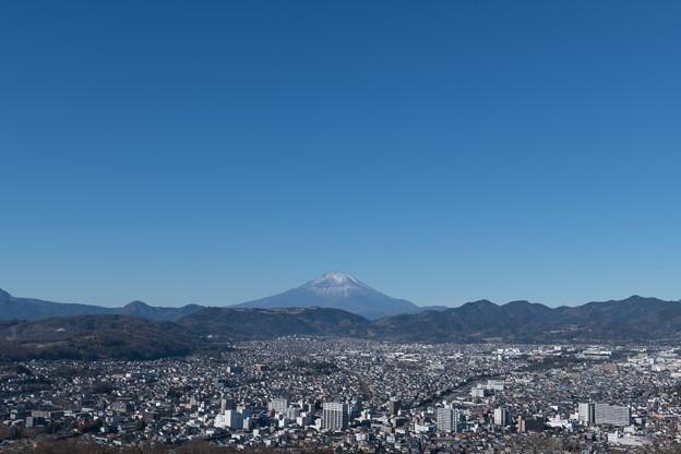 03弘法山公園【展望台:関東の富士見百景】2