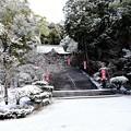 Photos: 雪の仁比山神社