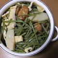 みずぶきの煮物 筍、さつま揚げ、薄揚げ入り