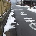道路の雪は溶けました
