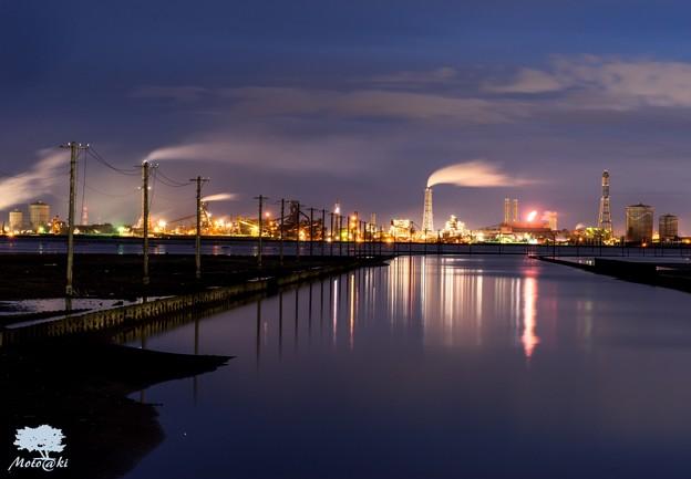 工場夜景_江川海岸