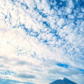 Photos: 斑雲と富士