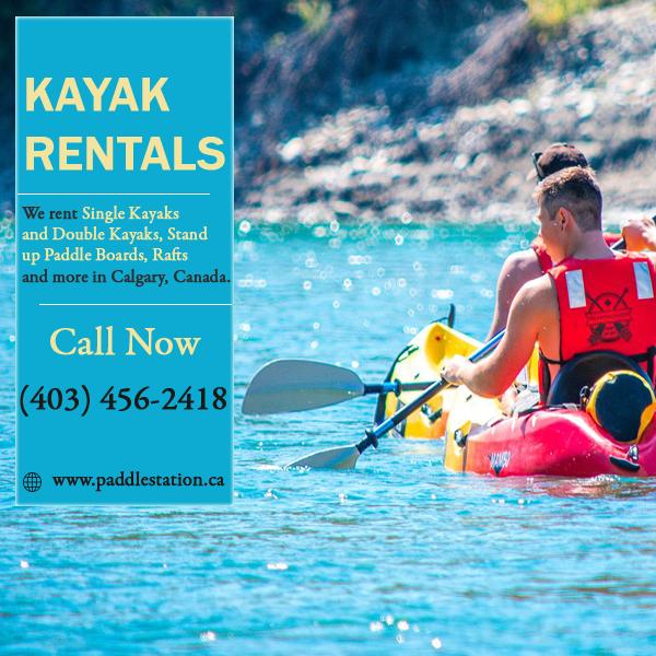 Kayak Rentals - Calgary Rafting