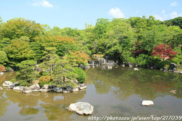 IMG_5527日本庭園・心字池